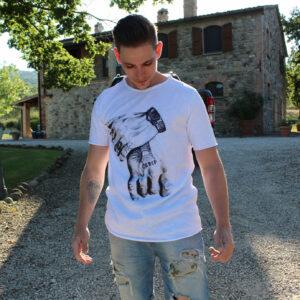 LongWave - Streetstyle Hands t-shirt - webshop-mannen-kleding