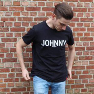 johnny shirt, zwart, gratis sokken, ik koop belgisch, ik koop lokaal, mannemode