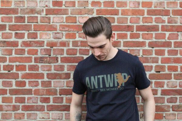 webshop, apenshirt antwrp, monkey see monkey do shirt, antwrp, ik koop lokaal, ik shop online