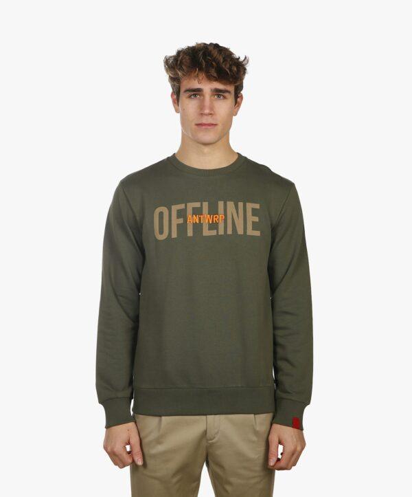 Antwrp advocadogroene offline trui, SS20 mannenmode, luxekledij voor mannen, offline sweater, offline trui, offline antwrp