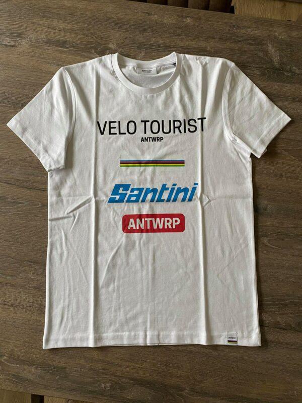 Santini Velo Tourist t-shirt mannen