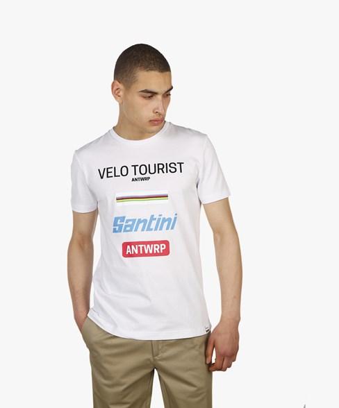 Santini t-shirt Velo tourist Antwrp
